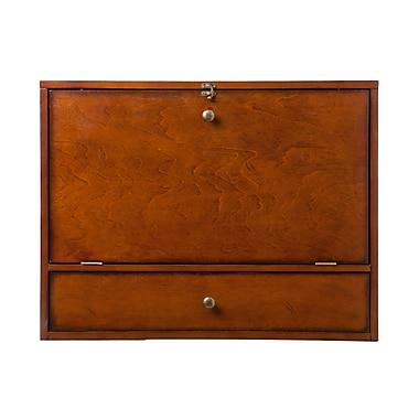SEI Wall Mounted Laptop Desk, Mahogany (HO8290R)