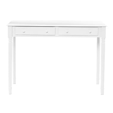 SEI Laptop/Writing Desk, Crisp White (HO8800)