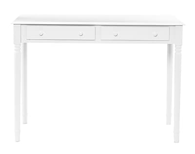 SEI Laptop/Writing Desk, Crisp White (HO8800)