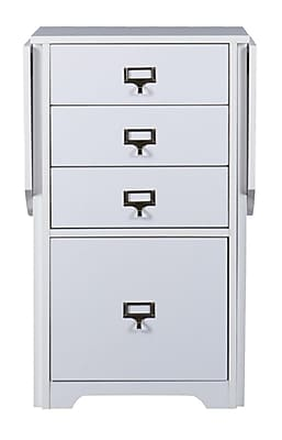 SEI Fold-Out Organizer and Craft Desk, White (HO9669R)