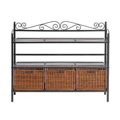 SEI 3 Drawer Storage Shelf