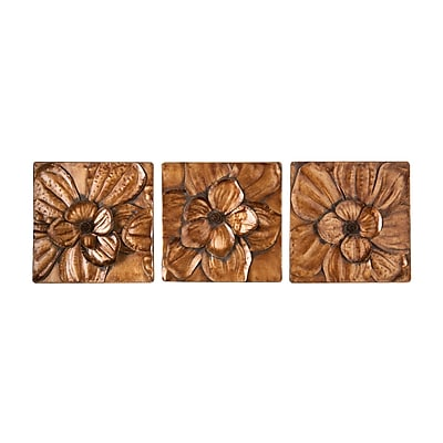 SEI Magnolia 3 Piece Wall Panel Set