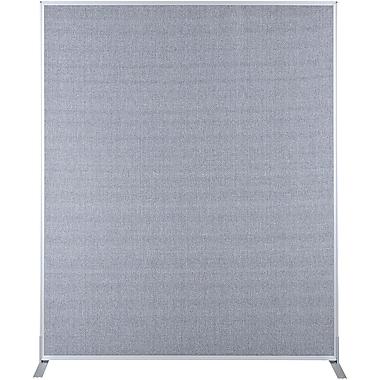 Best-Rite Fabric Standard Modular Panel, 6' x 5', Gray