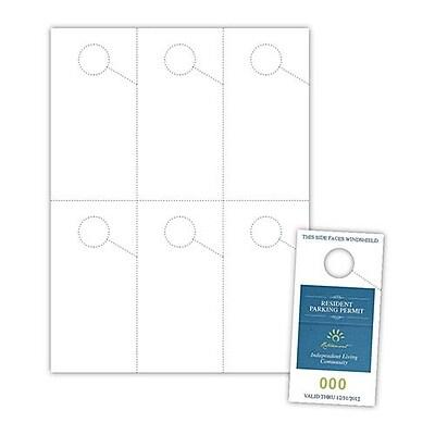 Exacompta 3212E Blanco, Caja de cart/ón, A4, 160 g//m/² Divisor
