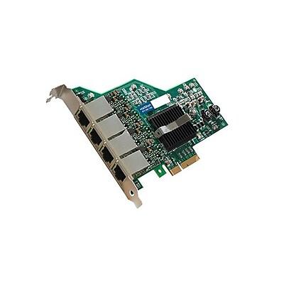 AddOn ADD-PCIE-4RJ45 Quad RJ45 Port Gigabit Ethernet x4 Network Interface Card For IBM 49Y4240