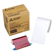 "Mitsubishi 4"" x 6"" Paper Roll and Inksheet For Digital Color Photo Printers"