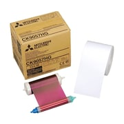 "Mitsubishi 5"" x 7"" Paper Roll and Inksheet For Digital Color Photo Printers"