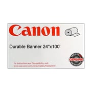 "Canon 130gsm Durable Banner Paper, Matte, 36""(W) x 100'(L), 1/Roll"