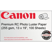 "Canon 255gsm Premium RC Photo Paper, Luster, 13"" x 19"""