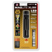 MAGLITE XL50 6.30-33 Hour 3-Cell AAA LED Flashlight, Black