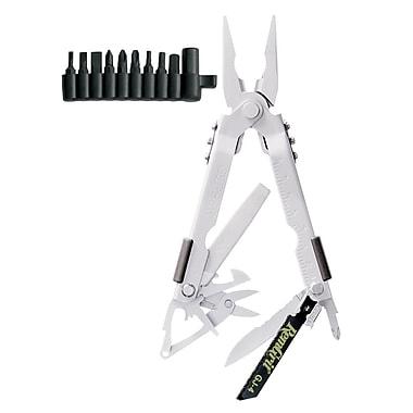 Gerber 600 Pro Scout Bead Blast Stainless Steel Needlenose Multi-Plier With Tool Kit, 5.04