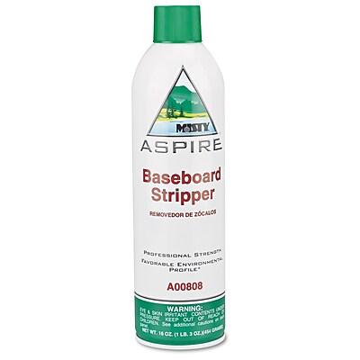 Misty® ASPIRE™ Baseboard Stripper, Lemon Scent, 12/Case