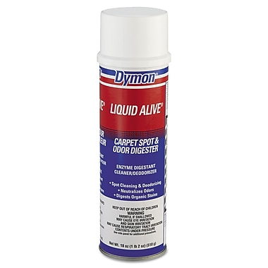 Dymon® Liquid Alive® 20 oz. Enzyme Digestant/Stain Remover & Deodorizer, Neutral Scent, 12/Case