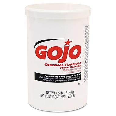 GOJO® 4.5 lbs. Plastic Cartridge Original Formula Hand Cleaner, Yellow/White
