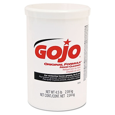 GOJO® 4.5 lbs. Plastic Cartridge Original Formula Hand Cleaner, Yellow/White