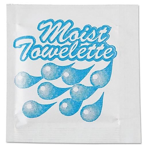 Sanfacon NatureHouse® Unscented Moist Towelettes, 1000/Case