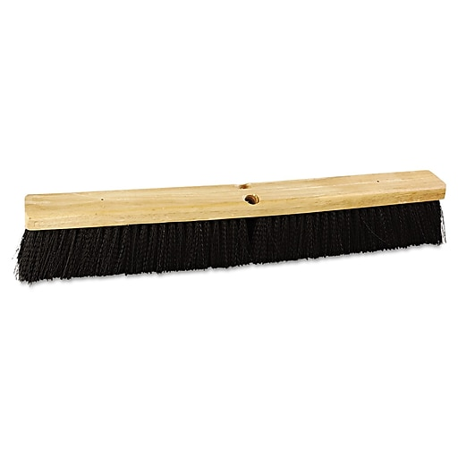 "Boardwalk® Floor Brush Head, 24""(L), Black"