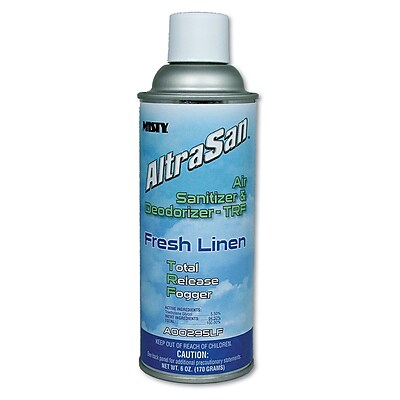 Misty® AltraSan® 6 oz. Air Sanitizer and Deodorizer Fogger, 12/Case