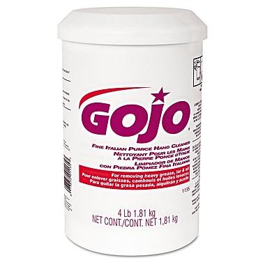 GOJO® 4 lbs. Plastic Cartridge Fine Italian Pumice Hand Cleaner, Yellow