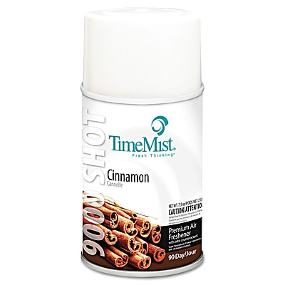 TimeMist® 7.5 oz. 9000 Shot Metered Air Freshener, Cinnamon