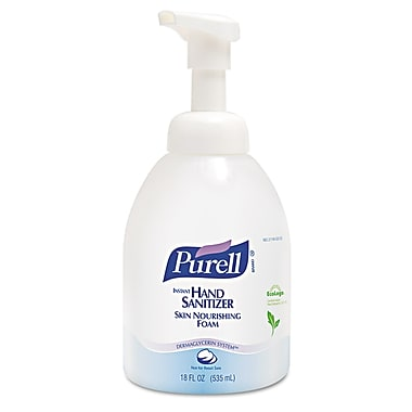 GOJO® Purell® Advanced Skin Nourishing Instant Hand Sanitizer, Clear, 4/Pack