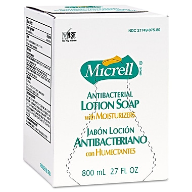 GOJO® Micrell® 800 ml Antibacterial Lotion Soap, Gold