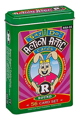 Super Duper® Say and Do® R Action Artic Cards