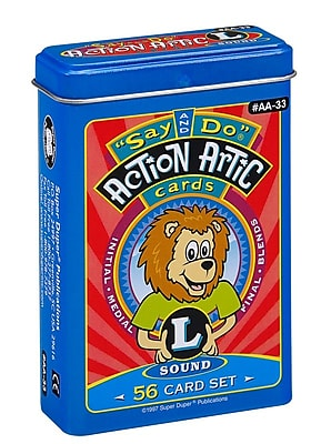 Super Duper® Say and Do® L Action Artic Cards