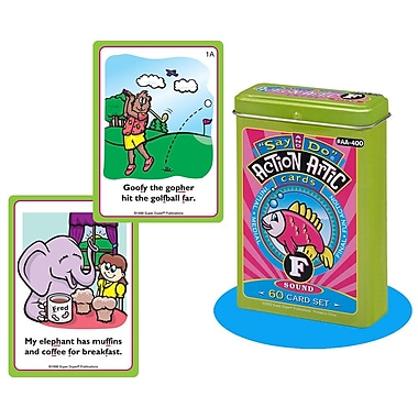 Super Duper® Say and Do® F Action Artic Cards