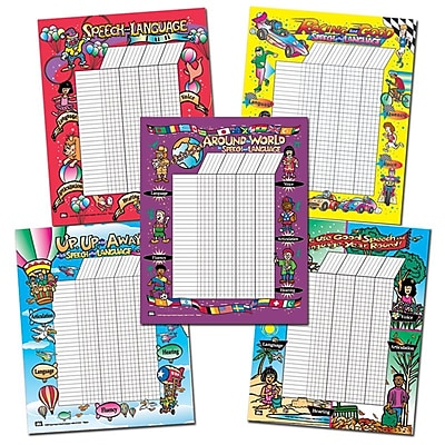 Super Duper® Large Speech and Language Motivational Chart