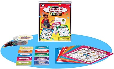Super Duper® Webber® Phonological Awareness Bingo Sound Game