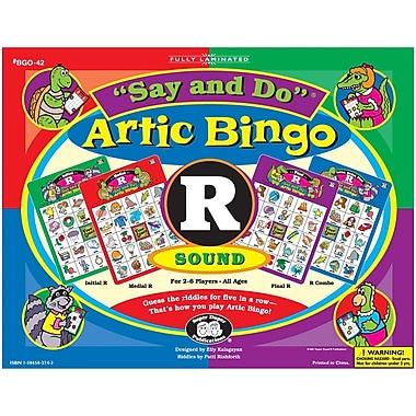 Super Duper® Say and Do® R Artic Bingo Sound Game