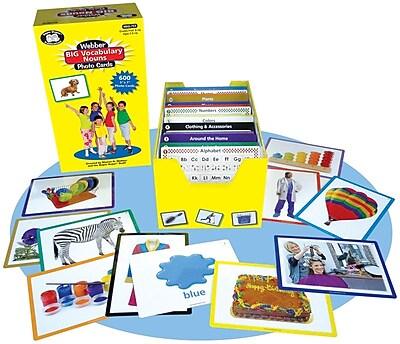 Super Duper® Webber® Big Vocabulary Nouns Photo Cards