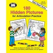 Super Duper® 180 Hidden Pictures for Articulation Practice Book
