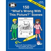 "Super Duper® 150 ""What's Wrong With This Picture?"" Scenes Book, Grades PreK-3"