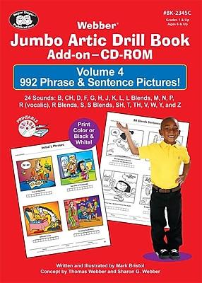 Super Duper® Jumbo Artic Drill Book PHRASE & SENTENCE Add-On CD-ROM