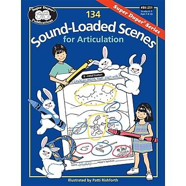 Super Duper® 134 Sound-Loaded Scenes for Articulation Book