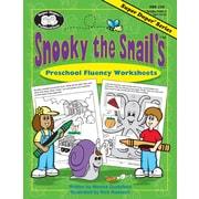 Super Duper® Snooky The Snail's™ Preschool Fluency Worksheets, Grades PreK-3