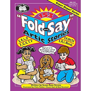 Super Duper® 153 Fold and Say Artic Stories Book