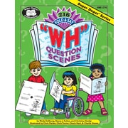 "Super Duper® 216 Fold & Say ""WH"" Question Scenes Book"
