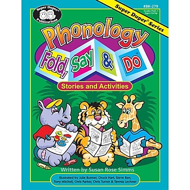 Super Duper® Phonology Fold, Say and Do® Stories and Activities Book