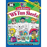 "Super Duper® Ask & Answer® ""WH"" Fun Sheets, Grades PreK-5"