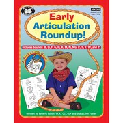 Super Duper® Early Articulation Roundup Fun Sheets Workbook