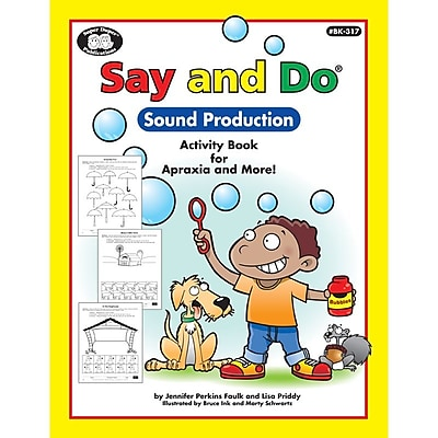 Super Duper® Say and Do® Sound Production Book, Grades PreK and Up