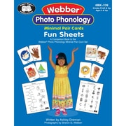 Super Duper® Webber® Photo Phonology Minimal Pair Cards Fun Sheets Book