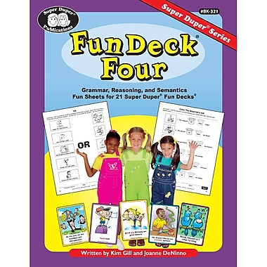 Super Duper® Fun Deck® Four Book, Grades K-6