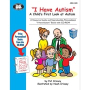 "Super Duper® ""I Have Autism"" Resource Book and CD-ROM, Grades PreK - 3"
