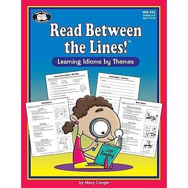 Super Duper® Read Between the Lines!Theme Book