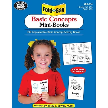 Super Duper® Fold and Say® Basic Concepts Mini-Books