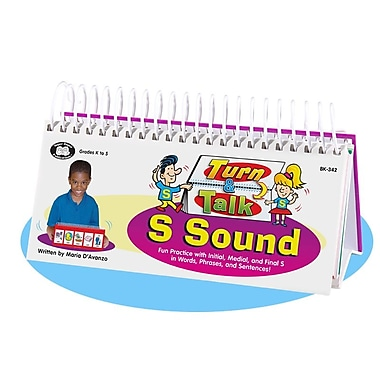 Super Duper® Turn and Talk® S Sound Articulation and Language Flipbook